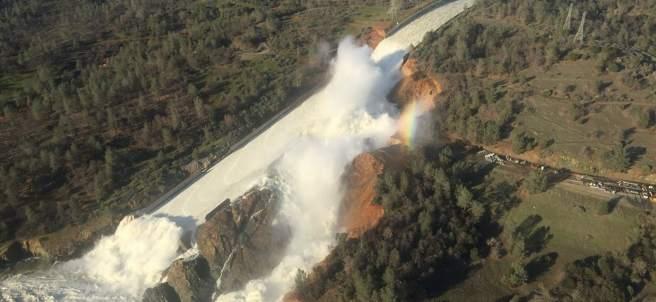 Imagen de la presa Oroville