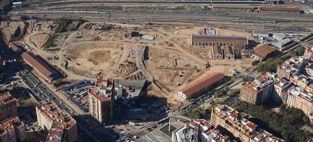 Primera fase del Parque Central de Valencia