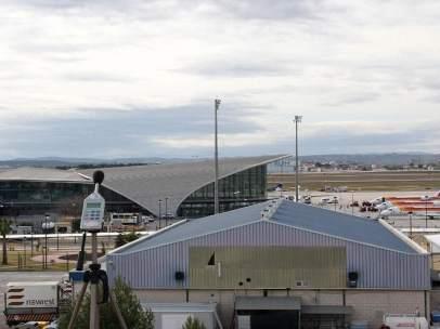 Aeropuerto de Valencia, en Manises (Valencia)