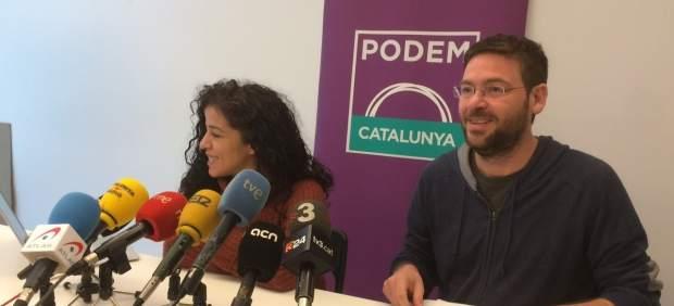 Albano-Dante Fachín y Ruth Moreta.