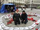 Mujeres en huelga de hambre contra el maltrato