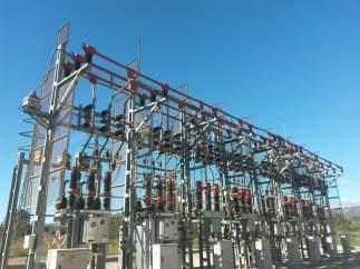 Estación eléctrica de Endesa.