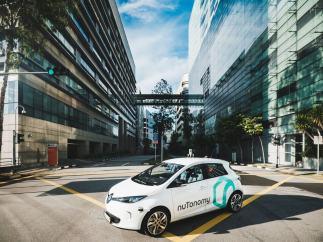 NuTonomy, taxis autónomos para 2018