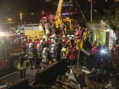 Accidente de autobús en Taiwán