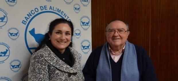 Donación de la Fundación Cepsa al Banco de Alimentos de Huelva.
