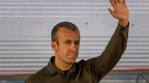 El vicepresidente de Venezuela, Tareck El Aissami