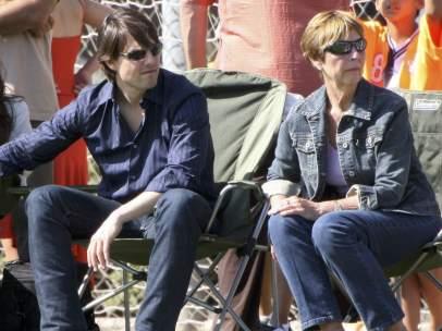 Tom Cruise y su madre