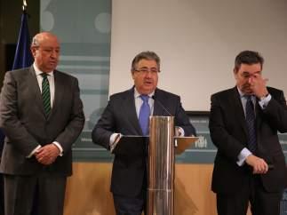 El ministro de Interior, Juan Ignacio Zoido.