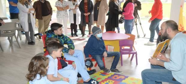 Acto con motivo del Día Internacional del Cáncer Infantil.