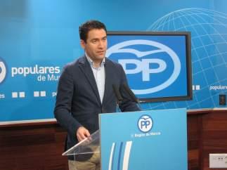 Teodoro García, en rueda de prensa