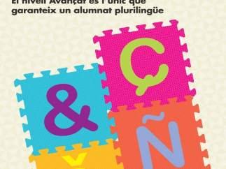 Cartell de la campanya d'Escola Valenciana