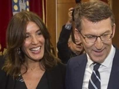 Feijóo y Eva Cárdenas.