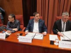 J.M.Jové, O.Junqueras y J.Castel