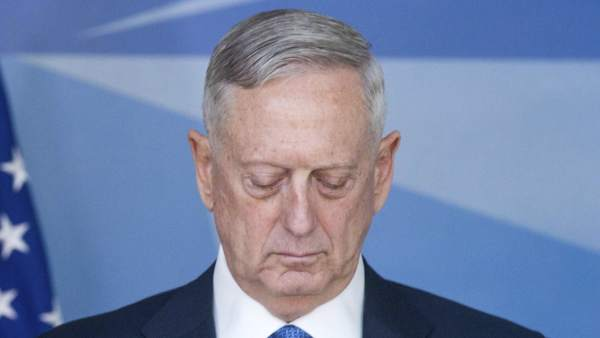 James Mattis, secretario de Defensa de Estados Unidos.