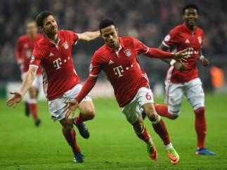 Thiago con el Bayern