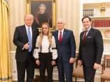 Trump recide a Tintori, junto a Marco Rubio