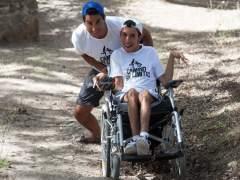 Oliver y Juan Luis, un 'camino sin límites' con parada en Santiago