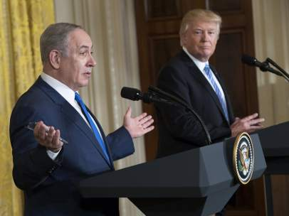 Benjamin Netanyahu y Donadl Trump