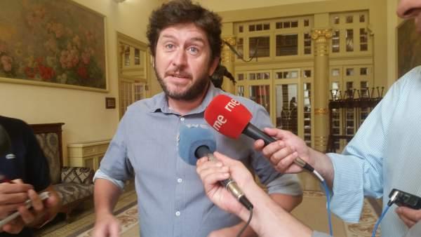 Alberto Jarabo, líder de Podemos en Baleares