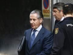 Miguel Blesa tras declarar en la Audiencia Nacional