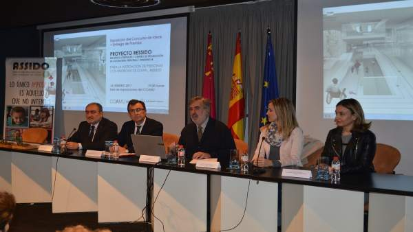 Imagen de la presentación de los proyectos
