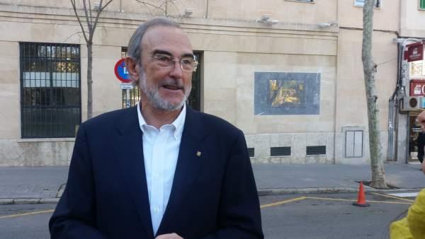 El exdiputado del PSIB que denunció Nóos, Antoni Diéguez, ante la Fiscalía