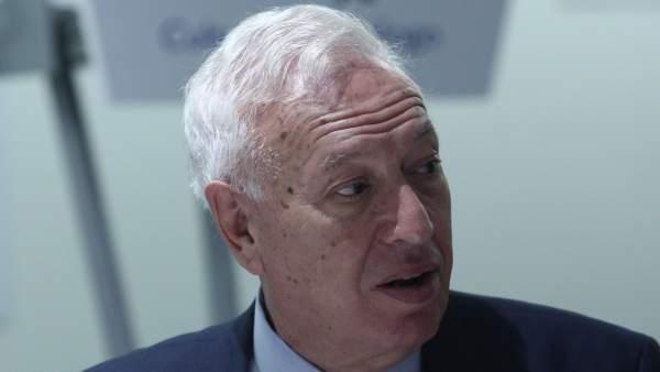 José Manuel García Margallo en una conferencia.