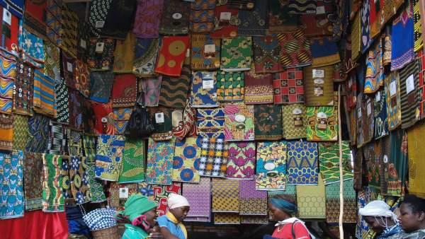 Una de las imágenes de la muestra 'Acércate a Ruanda', en Ibercaja Actur