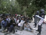 Entrada masiva de inmigrantes en Ceuta