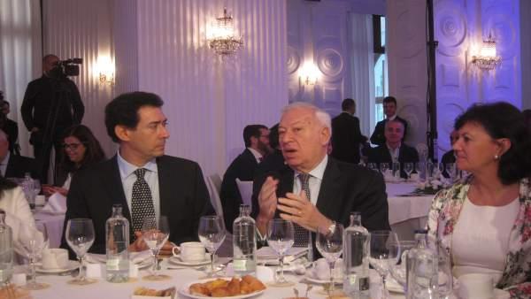 García Margallo en el coloquio