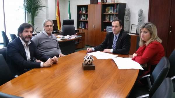 Reunión de la Junta con Comercio Jaén