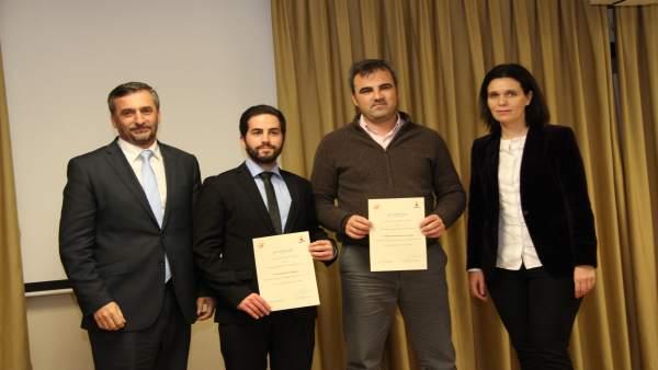 Entrega de premios de la Cátedra Endesa a ingenieros en Sevilla