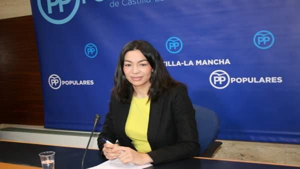 Gpp Clm (Cortes De Voz Y Fotografía) Claudia Alonso En Rueda De Prensa, 170217