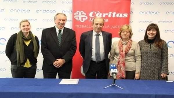 Endesa y Cáritas presentan un proyecto