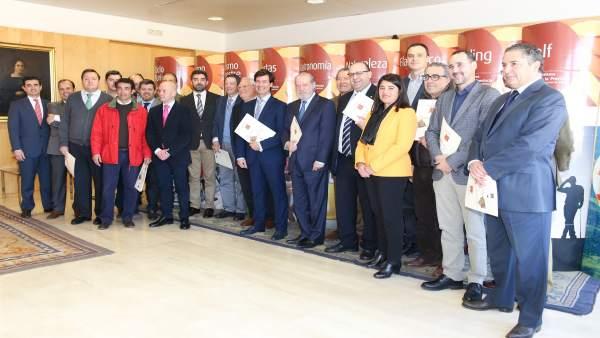 Presentación del plan en la Diputación.