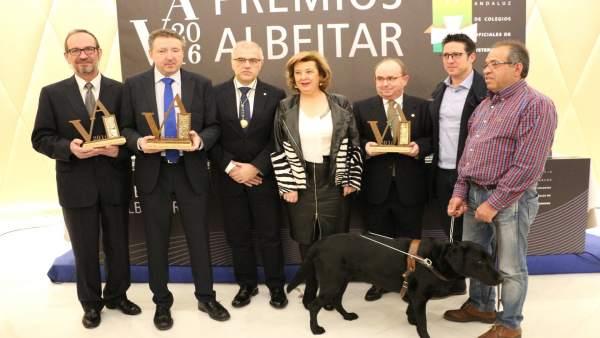 Celebración de la sexta edición de los premios Albéitar.