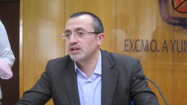 Manuel Bonilla durante la rueda de prensa