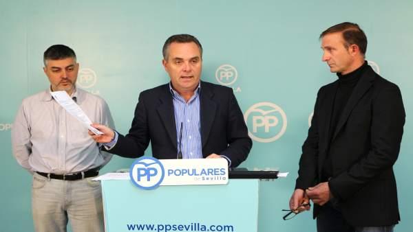 Juan Bueno en rueda de prensa.