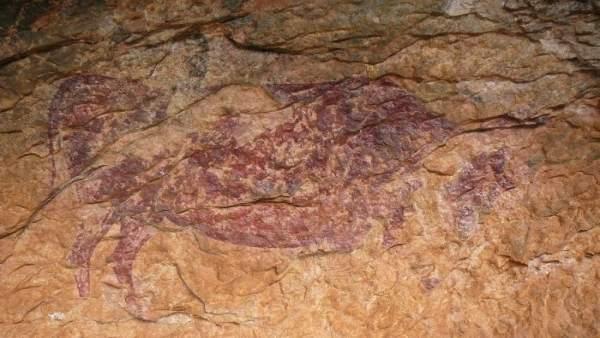 Recuperan y protegen las pinturas rupestres de Capçanes (Tarragona)