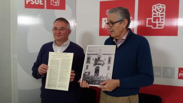 Presentación de los actos del 125 aniversario de la Agrupación Socialista