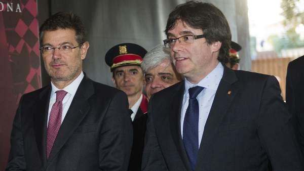 Catalá y Puigdemont