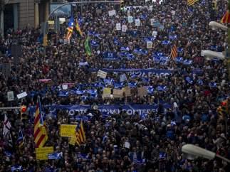 Manifestación para la acogida de refugiados