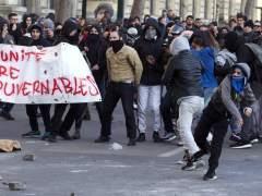Disturbios en París en una protesta contra la violencia policial