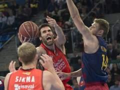 El Barcelona decepciona y el Valencia jugará la final de la Copa del Rey de baloncesto