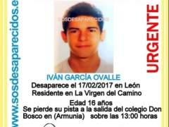 Iván, desaparecido en León