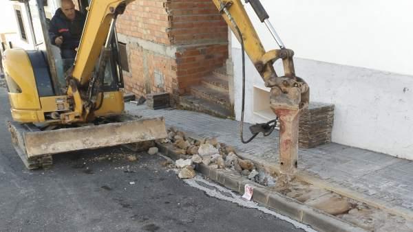 Obras de renovación de infraestructuras hidráulicas en la provincia de Córdoba