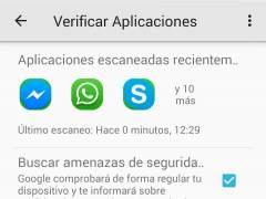 Cómo activar la verificación de aplicaciones en Android