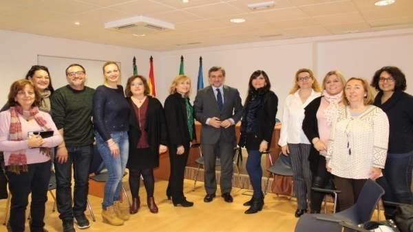Diputación y UAL facilitan las prácticas a alumnos de Educación Social.