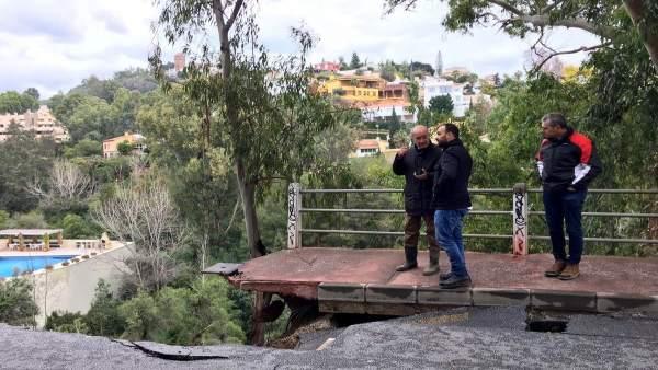 Alcalde calle flamencos malaga cerrado calderón mario cortés