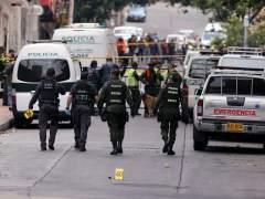 Un policía muerto y 31 heridos en una explosión en Bogotá